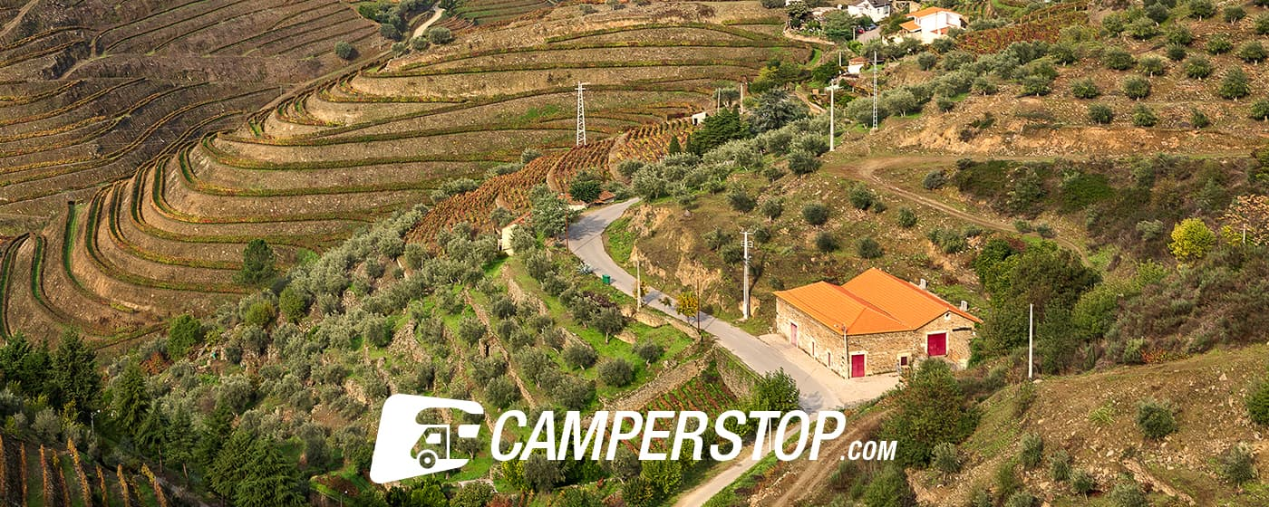 The Portuguese Douro Valley with the motorhome