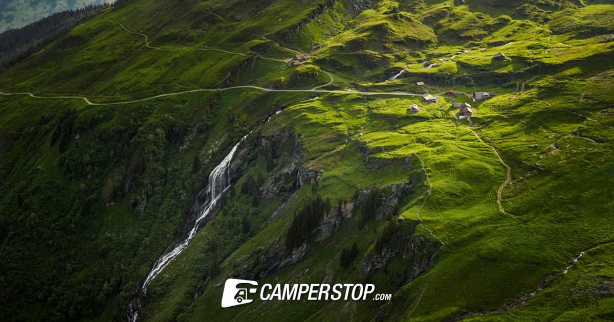 In het Berner Oberland kun je genieten van de groene heuvels van Ierland.