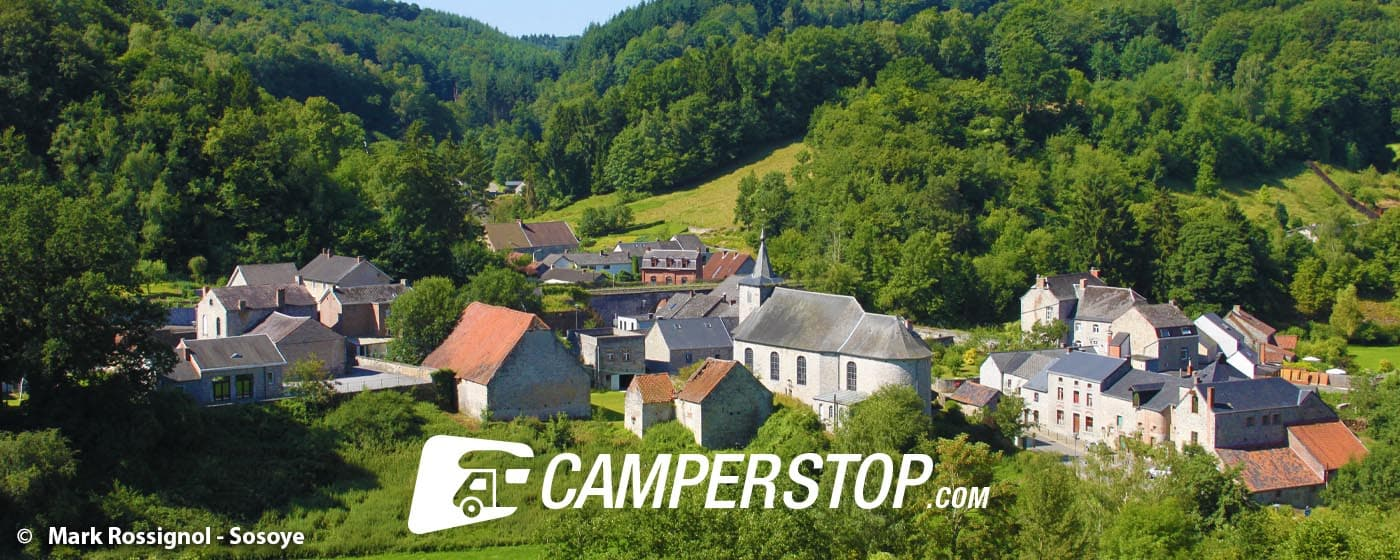 Visit the most beautiful villages of Wallonia by motorhome