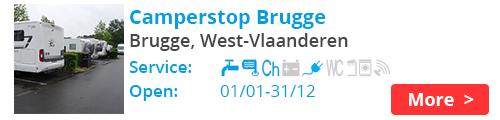Camperstop Brugge Belgium