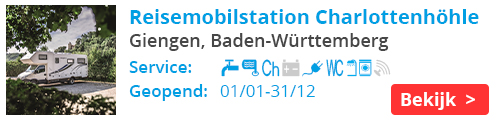 Charlottenhohle Reisemobilstation - Giengen