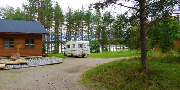 Motorhome journey through Finland