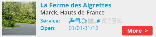 La Ferme des Aigrettes Marck France