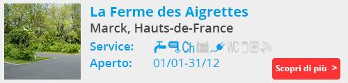 La Ferme des Aigrettes Marck Francia