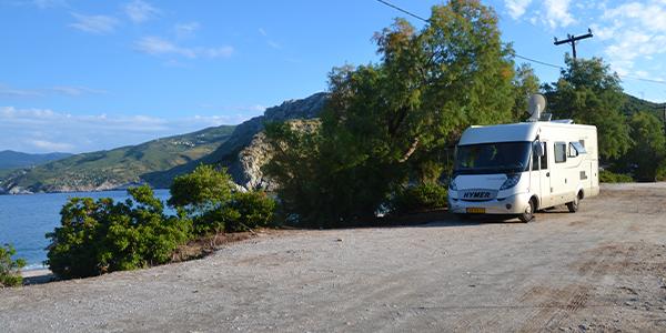camperreis door Griekenland