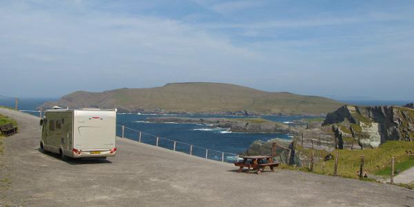 motorhome journey through Ireland