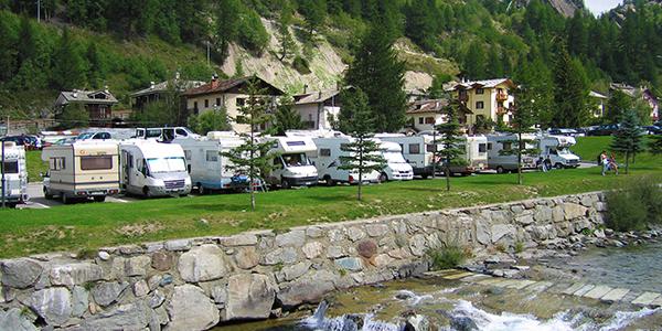 tour in camper attraverso l'Italia