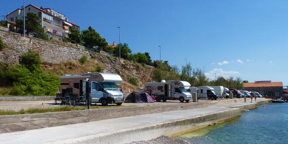 motorhome journey through Croatia