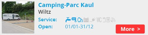 Camping-Parc Kaul Wiltz Luxembourg
