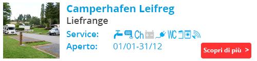 Camperhafen Leifreg - liefrange Luxemburg