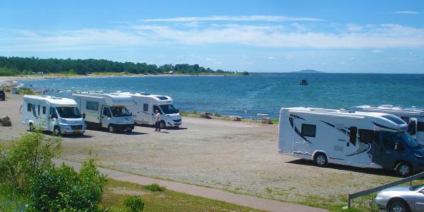 camperreis door Zweden