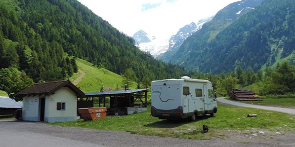 Wohnmobilreise durch die Schweiz