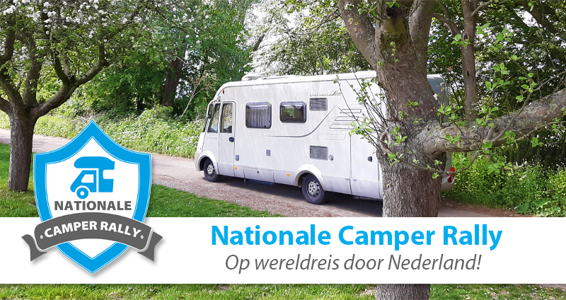 Nationale Camper Rally 'Op wereldreis door Nederland'